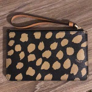 Coach Bags - Never Used Leopard Print Coach Wristlet